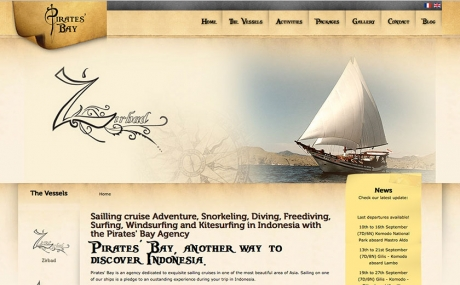 bali web design : Pirate Bay Cruising : pirate-bay-cruising
