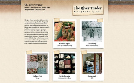 bali web design : The River Trader : the-river-trader