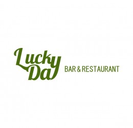 Lucky Day bar & restaurant : villa logo : logo design : bali logo design