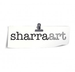 Sharra Art : villa logo : logo design : bali logo design