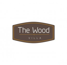 The Wood villa : villa logo : logo design : bali logo design
