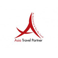 asia travel partner : villa logo : logo design : bali logo design